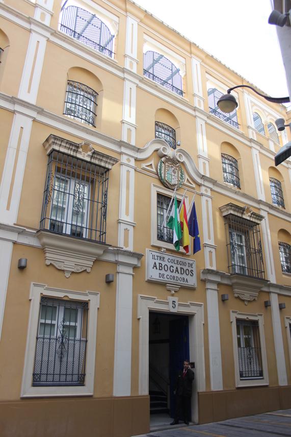 Sala Iltre Colegio de Abogados Cordoba