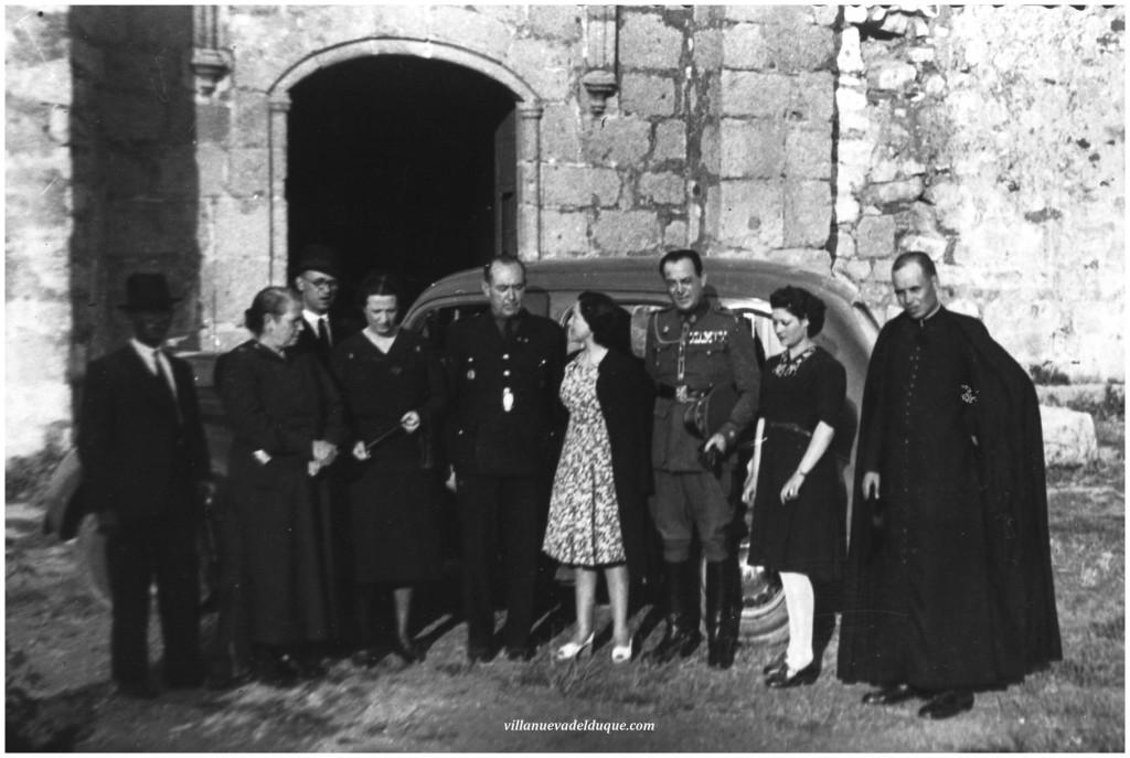 Generales Carvajal en Virgen de Guía