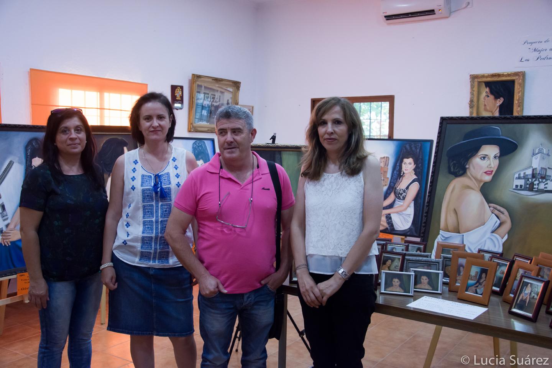 Los artistas carmen v zquez y francisco r squez traen su for Villanueva del duque