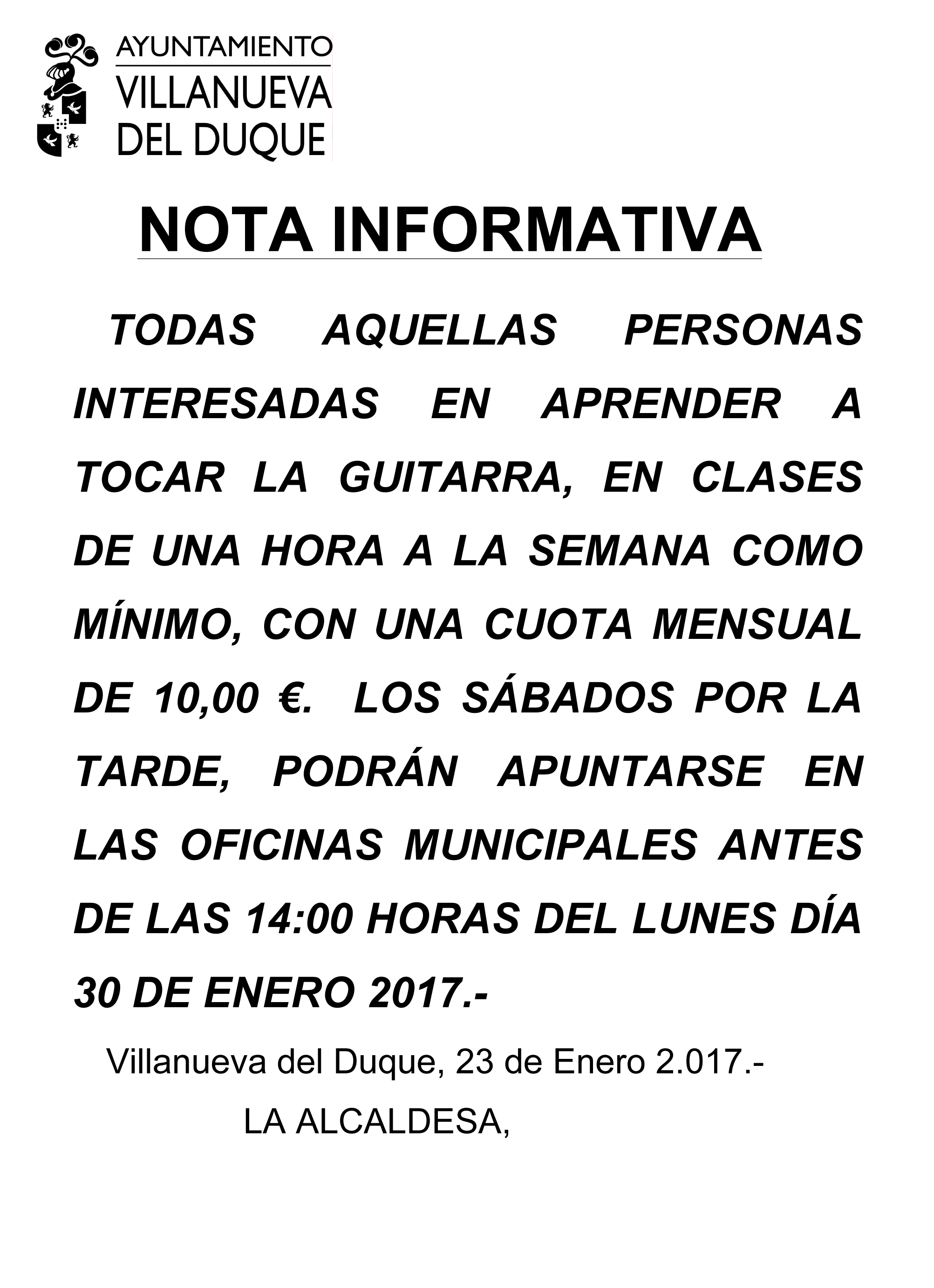 Microsoft Word - nota informativa guitarra.doc